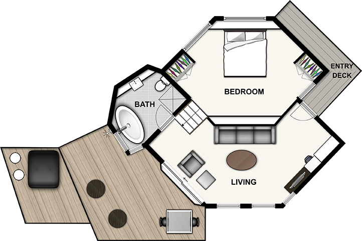 Terrific Tree House Floor Plan Pictures - Ideas house design ...